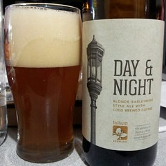 Day & Night (Pak T) Tags: beer boston trillium bottle drink massachusetts beverage ale alcohol barleywine beerporn untappd samsunggalaxys2 trilliumbrewing
