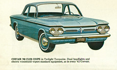 1962 Chevrolet Corvair 700 Cub Coupe (coconv) Tags: pictures auto door old 2 art classic cars chevrolet car illustration sedan vintage magazine ads painting advertising cards cub photo flyer automobile post image photos drawing antique postcard ad picture images advertisement vehicles photographs chevy card photograph postcards vehicle autos collectible collectors 700 brochure coupe 1962 automobiles 62 dealer corvair prestige