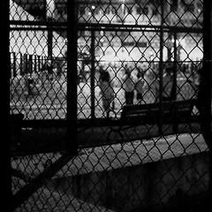 (a.pierre4840) Tags: blackandwhite bw monochrome hongkong nightshot framed olympus squareformat handheld xenon omd 25mm schneider kreuznach f095 em5 cmount
