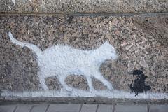 _DSC8519 (Boris Anipchenko) Tags: autumn cat mouse graffiti saintpetersburg