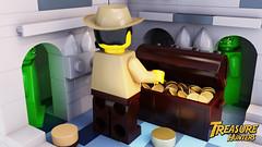 Lego Treasure Hunters (jonnyhassall) Tags: gold mine treasure lego tomb indiana hidden goblin hunter ideas vignette indianajones treasurechest treasuremap hiddentreasure treasurehunter minecraft
