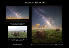 Parasomnia Before & After (miketaylorphoto) Tags: longexposure nightphotography night clouds stars astrophotography moonlight bluehour milkyway landscapephotography exposureblending milkywaygalaxy airglow taylorphotography landscapeastrophotography nightphotographyworkshops miketaylorphoto milkywaymoonlight astrophotographyworkshops milkywayworkshops landscapeastrophotographyworkshops