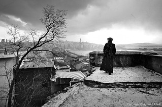 Nostalgic Wintertime Istanbul Snow Storm