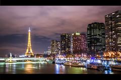 DSC_0165 (Daniel.L.B.Photography) Tags: paris tower seine night dark photo nikon tour eiffel toureiffel d750 nuit fleuve peniche parisbynight parisontaime