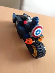 "IMG_7645 (lee_a_t) Tags: bike america lego cycle captain superhero motorcycle superheroes marvel captainamerica speeder avengers hoverbike superbike ""the steverogers airspeeder ""lego marvel"" repulser legocaptainamerica avengers"" aircycle legosteverogers repulserbike"