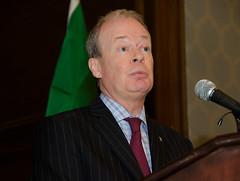 Norman Houston of the Northern Ireland Bureau