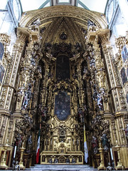 "la Cathédrale Métropolitaine de Mexico <a style=""margin-left:10px; font-size:0.8em;"" href=""http://www.flickr.com/photos/127723101@N04/25003853673/"" target=""_blank"">@flickr</a>"
