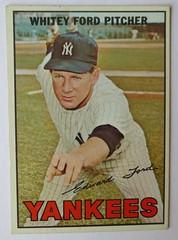 WHITEY FORD NEW YORK YANKEES 1967 (ussiwojima) Tags: baseball card 1967 topps newyorkyankees whiteyford