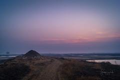 324 - Fresh start (Gladson777) Tags: morning winter india mist fog rural sunrise skyscape landscape photography dawn countryside amazing twilight moments break village sony wideangle maharashtra alpha dslr mumbai slt a58 2016 vasai 2015 ponda dslt