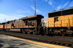 2016_02_16UP freight #5253Topaz (Walt Barnes) Tags: ca railroad sky cloud up clouds train canon eos engine rail cargo calif unionpacific locomotive ge martinez freight topaz generalelectric trackside emd sd70m dieselelectric sd70ace 60d ac45ccte canoneos60d eos60d topazclarity wdbones99