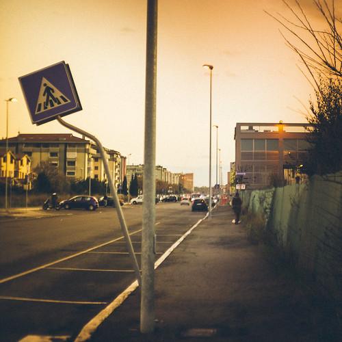 Walk straight