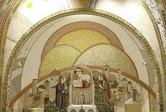 Vision of our Homeland (Lawrence OP) Tags: city washingtondc shrine heaven cross mosaic omega altar alpha relics celestial nationalshrine lambofgod johnthebaptist ourlady newjerusalem stjohnpaulii markorupniksj