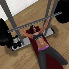 Mandy working out_009 (Mandy Galileo) Tags: mandy sl secondlife weightlifting gym