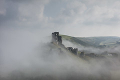 This is our England....this green and rather pleasant land (stocks photography.) Tags: england mist castle misty fog landscape photography photographer foggy corfecastle thecastleinthesky michaelmarsh thisisourengland