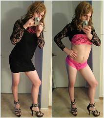 Danielle CD (daniellecd92) Tags: boy guy panties dress legs slut girly feminine cd bra stomach lingerie crossdressing tgirl transgender sissy tranny transvestite heels crossdressers transexual crossdresser halter ts slutty tg lbd shemale feminized