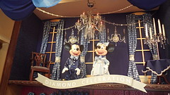 Disneyland 60th Anniversary Mickey & Minnie Display (BeautifulToyReviews) Tags: street shop mouse store anniversary disneyland main parks disney mickey diamond celebration minnie 60th