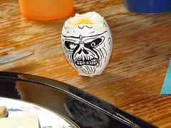 Easter Brunch Part 1 (evil king) Tags: metal easter iron egg son brunch eddie seventh heavy egghead ironmaiden maiden freaks freakshow eggie