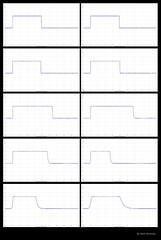 Oscilloscope Images Synchro-Compur Shutter Speeds (01) (Hans Kerensky) Tags: test images 01 shutter oscilloscope speeds synchrocompur