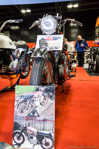 MCN Scottish Motorcycle Show 2016 - 1965 BSA A65
