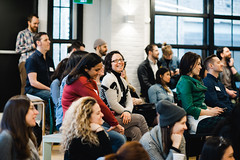 CMTO 29 with Mark Raheja (CreativeMornings/Toronto) Tags: toronto creativity review cmto shutterstock shopify markraheja creativemornings creativemorningstoronto breakfastlecture cmchange augustpublic