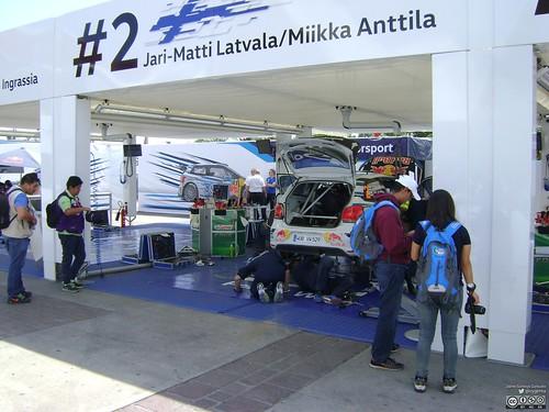 WRC Rally Guanajuato México 2016 - Sábado 5 de marzo - Rally Campus 074