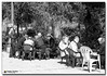 20080319_1255 (gabrielpsarras) Tags: park people bw tree men public sunshine reading book blackwhite chair downtown chess athens company greece zappeion αθήνα zappeio ζάππειο