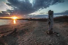 """""""Weird Staten Island"""" - Prince's Bay, Staten Island, New York (superpugger) Tags: island staten new york weird sunset lawrencepugliares lpugliares tiki"""
