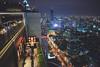 city lights (williwieberg) Tags: d810 thailand 24mmf14g banyantreehotel moonbar bangkok nightlights