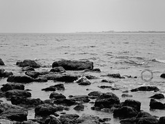 s a d   s e a. (dadoph_) Tags: sea white black clouds nikon mare coolpix bianco nero p500