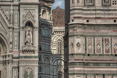 The Dome, Santa Maria del Fiore (Sorin Popovich) Tags: italy history facade florence europe pattern cathedral basilica gothic nopeople dome firenze christianity marble duomo faade brunelleschi cattedraledisantamariadelfiore italianculture