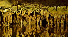 Dream Lake II (evanlochem) Tags: lake mountains america underground virginia natural interior united dream tunnel landmark national valley cave states appalachian shenandoah stalagmite caverns luray stalactite