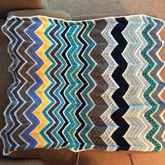 Robyn Olszowy (The Crochet Crowd) Tags: game stitch right blanket afghan throw crochetblanket thecrochetcrowd stitchisright