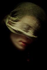 Dolores (jeflart) Tags: portrait art studio peinture voile clair visage obscur classique