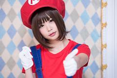 P75_018 (ms09Dom) Tags: cosplay コスプレ マリオ 五木あきら itsukiakira studioazure