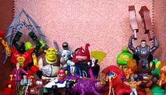 MODELS, TOYS AND ACTION FIGURES - WHO GOES THERE? (zero g) Tags: cars toy toys actionfigure corn shrek vampire spiderman superman dracula octopus superheroes frankensteinsmonster savers wwe tmnt anubis powerranger wallop supermario bionicles mexicanwrestler zod manofsteel teenagemutantninjaturtle kryptonian luchidore hoteltransylvania skylanders howtotrainyourdragon