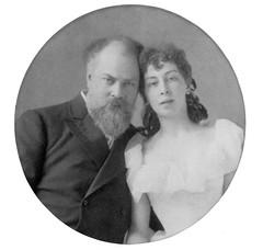 K.E. Makovsky and his wife (sergey245x) Tags:        xix     19  aokarelin