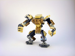O.G.R.E. Frame - Front (Jay Biquadrate) Tags: lego mecha mech moc microscale mfz mf0 mobileframezero