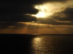Sun and sea (Hristo Takev) Tags: travel light sea sun seascape clouds outdoor malta rays sunrays gozo
