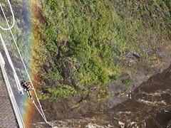 Getting return to the bridge after the jump (little_duckie) Tags: africa zimbabwe bungy bungee zambezi bungyjump zambeziriver 111metres