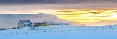 Fell (piparinn) Tags: winter sunset iceland fell sland vetur skagafjrur heidar slsetur slttuhl canon70d piparinn