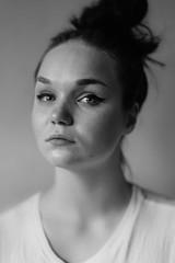 Jojo (navegal) Tags: portrait people bw girl 50mm blackwhite nikon 14 d600 nikkor50mm14 nikond600