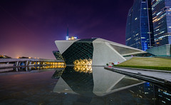 Guangzhou Opera House (Vincen Chuang) Tags: guangzhou china house architecture opera nightscape sony guangdong nightview   canton  nightscenes  zaha hadid   fe1635mmf4zaoss variotessartfe1635mmf4zaoss a7rii