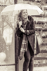 let it rain (Petar Stoykov) Tags: portrait blackandwhite netherlands girl monochrome smile dutch face sepia umbrella canon outdoors eos rotterdam expression candid portraiture smily paraplu zuidholland 2470mm portraitphotography flickrtoday heijplaat 1dmarkiii 1dmark3 canon1dmarkiii canon1dmark3 eos1dseries instagram rottergram