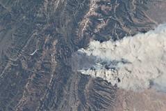 Observing #Earth - ISS Expedition 31 (NASA's Marshall Space Flight Center) Tags: fire earth science marshall nasa wyoming earthday wildfire internationalspacestation earthmonth nasamarshall issspace nasasmarshallspaceflightcenter
