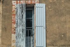 20160423 Provence, France 02568 (R H Kamen) Tags: blue france window architecture shutters provencealpescotedazur saintdidier buildingexterior rhkamen