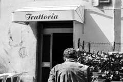 IlGiovediDiDomenico_19 (Naraphotos) Tags: portrait bar hands hand tram oldman mani mano spaghetti autobus ritratto caff reportage domenico sigarette panchina trattoria solitudine rotaie anziano amatriciana stampella gioved tranquilli