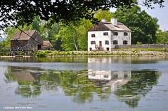Standing On The Edge Of The 18th Century (Trish Mayo) Tags: reflection farm 18thcentury philipsburgmanor thebestofday gnneniyisi