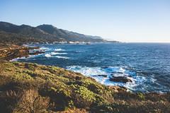 Point-Lobos-15 (hotcommodity) Tags: ocean california sunset wild beach nature water monterey waves highway1 pacificocean westcoast seamist beautifulearth turquoisewater bigsurhighway pointlobosstatenaturalreserve