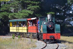 DS_Train_10_McLeansIsland_10April2016 (nzsteam) Tags: price train island traction engine railway scene steam engines locomotive boiler boilers mcleans sawmilling