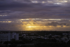 Sunset Sky (Tania Roques) Tags: sunset red sky orange portugal clouds albufeira troques troquesphotography traveltrphotography